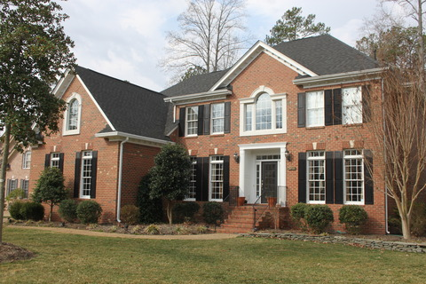 Discover the best in waterfront living in gatling pointe for Traditional brick homes