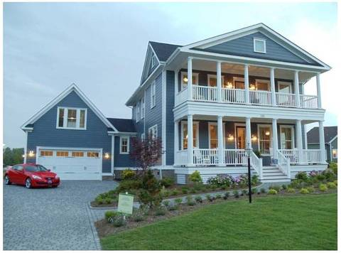 Discover southern charm in this waterfront community in for Southern charm house plans
