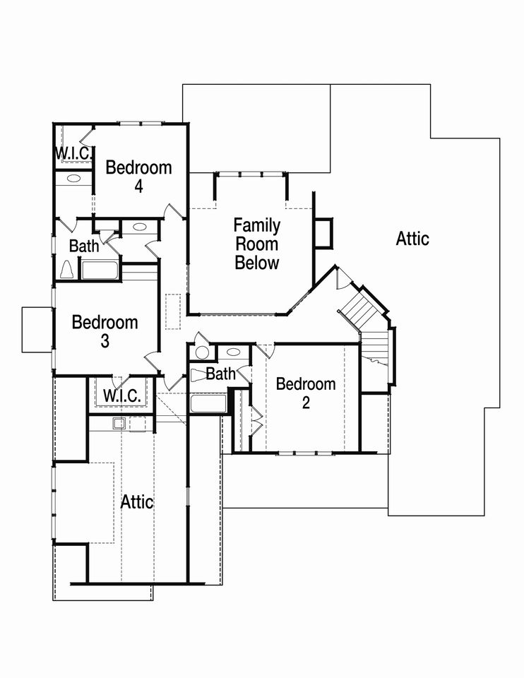 Craftsman cottage home plans floor plans for Riverfront house plans