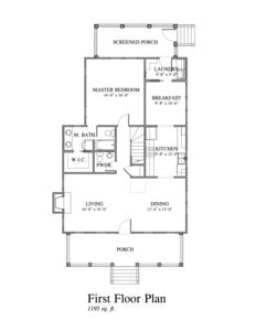 Floorplan Level 1