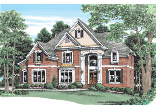 Estate home plans and floor plans for River front home designs