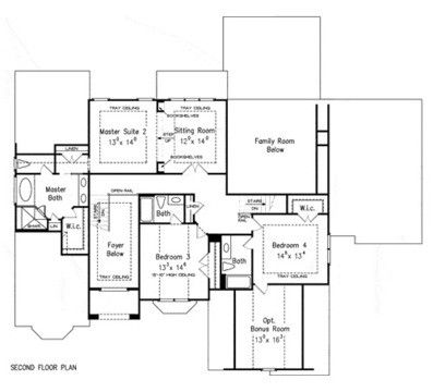 his and her bathroom floor plans his bathroom floorplans house plans amp home designs 25292