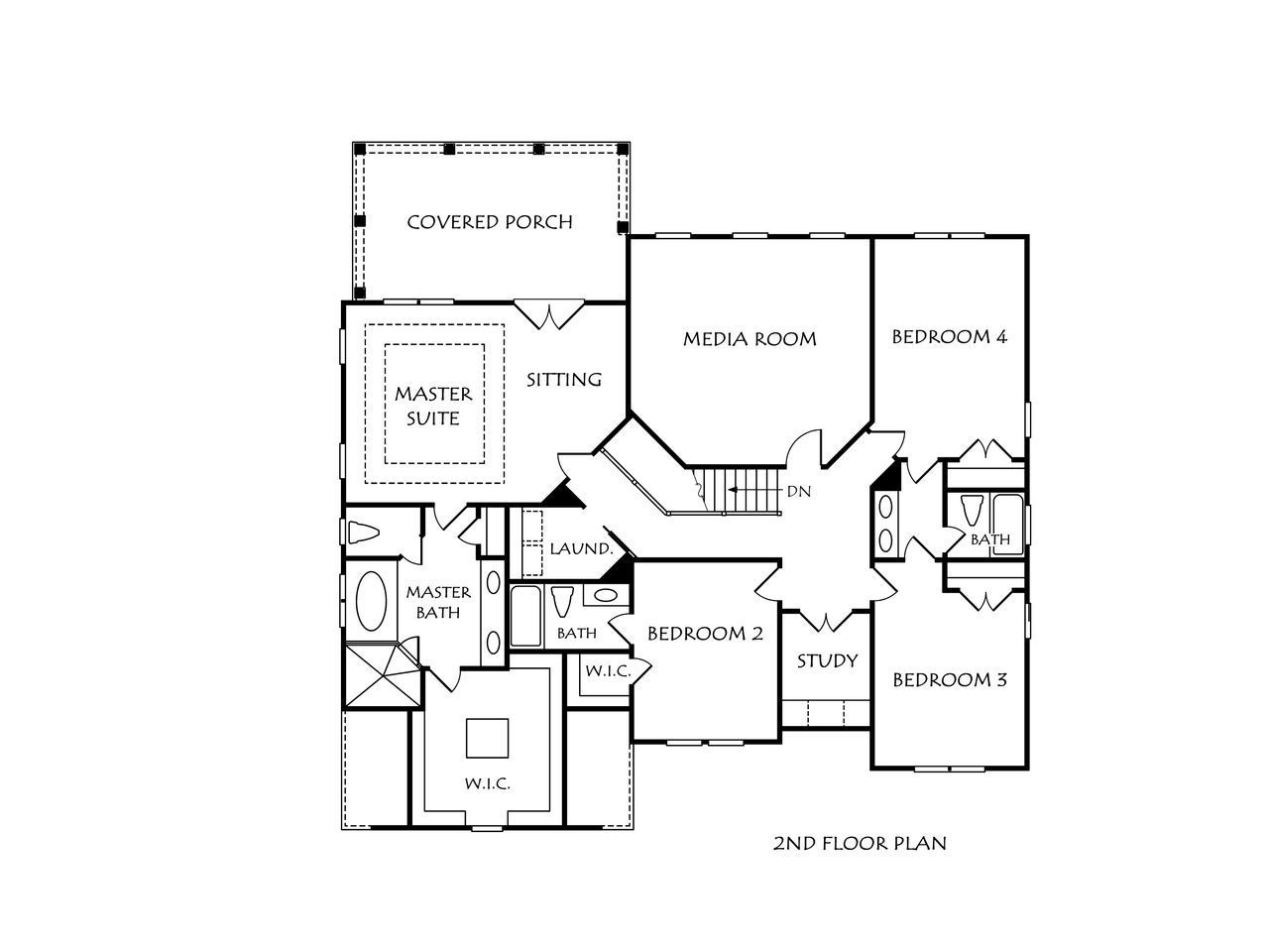 European Transitional Home Plans Floor Plans