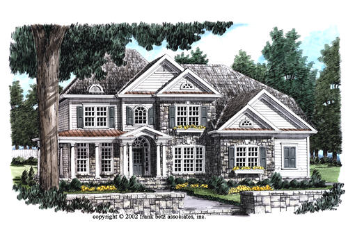 Timeless traditional home plans and floor plans for Riverfront home designs