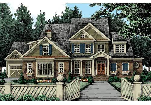 Can 39 t find the right home try custom building your dream for Typical american house plan